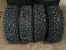 Шины для ледозаливочной машины 205 75 16C FULDA Conveo Trans - 140 шипов 11-15-2