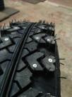 Ошипованные диагональные шины 175 80 16 ВЛИ-5 на Ниву