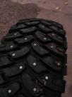 Ошипованные шины 31x10,5 15LT Comforser CF3000 на УАЗ