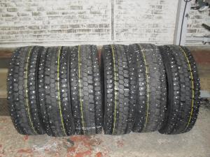 Грузовые шины с шипами 245 70 R19,5 КАМА NR201