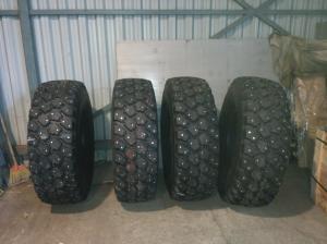 395 85 20 Michelin XZL - 64 шипа 15-23-3 + 96 шипов 12-20-3L (22)