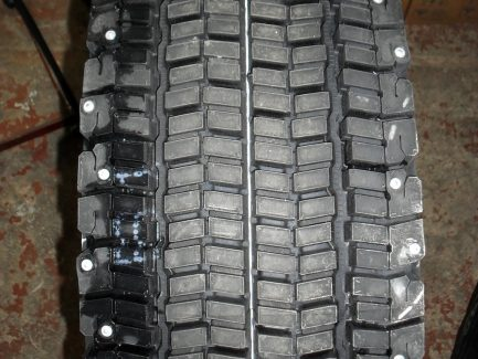 Фото рисунка протектора 3PMSF зимней шины Bridgestone W990