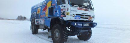 Ошиповка шин для команды КАМАЗ-Мастер Спорт