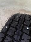 Ошиповка всесезонных легкогрузовых шин оптом Voltyre C-156 без отверстий - шипы 8-11-3