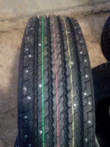 Грузовые шины с шипами 215 75 R17,5 КАМА NF202