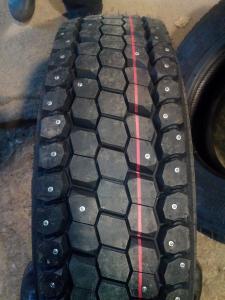 Грузовые шипованные шины 215 75 R17,5 КАМА NR201