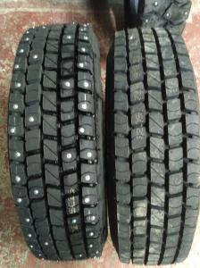 Грузовые шины с шипами 215 75 R17,5 Satoya SD-060TL)