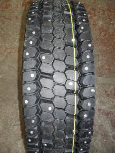 Шипованные грузовые шины с шипами 245 70 R19,5 КАМА NR201
